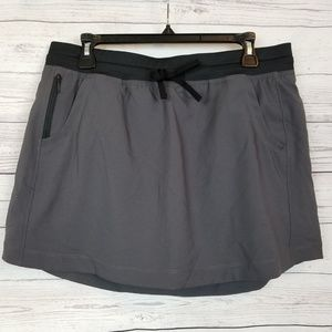 The North Face Womens Class V Skort Gray X-Large